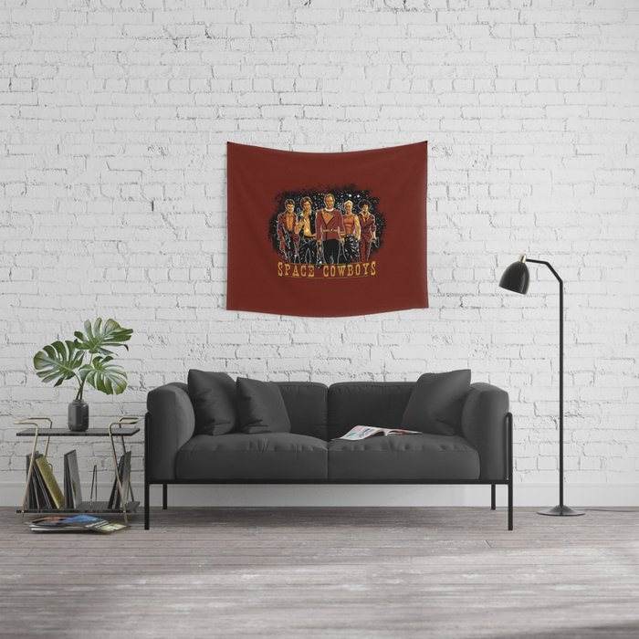 Space Cowboys Wall Tapestry