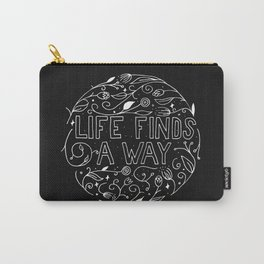 Life Finds a Way Carry-All Pouch