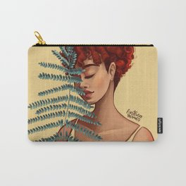The girl in yellow Carry-All Pouch