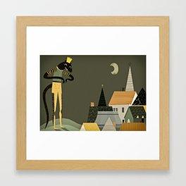 rat king Framed Art Print