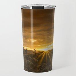 A Southwestern Sunrise Travel Mug