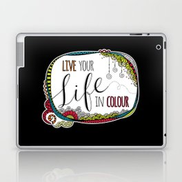 Live Your Life in Colour Laptop & iPad Skin