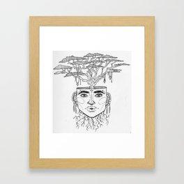 Tree Brain Framed Art Print