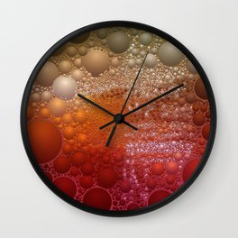 Colorful Spheres Wall Clock