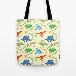Dinosaur Pattern Tote Bag