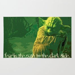 Yoda   Star War Art Rug