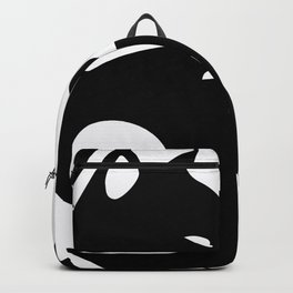 yin yang cats Backpack