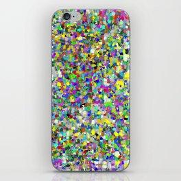 Da People Glitch Pattern iPhone Skin