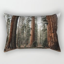 Walking with Giants Rectangular Pillow