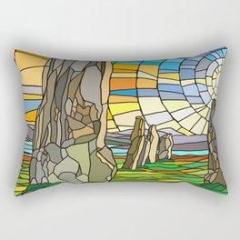 Calanais Sunset Rectangular Pillow