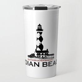 Indian Beach - North Carolina. Travel Mug