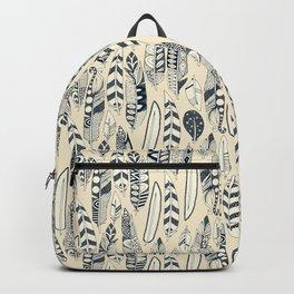 joyful feathers cream Backpack