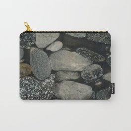 Marble Pebbles Carry-All Pouch