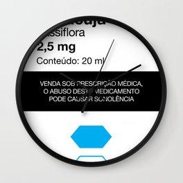 Kitchen Posters - Rivotril/Maracuja Wall Clock