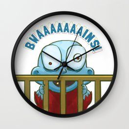 Nobody puts Baby Zombie in a corner! Wall Clock