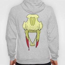 Sabertooth Skull Hoody