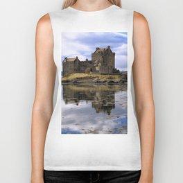 Eilean Donan Castle Scotland Biker Tank
