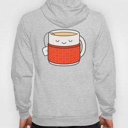 Keep warm, drink tea! Hoody
