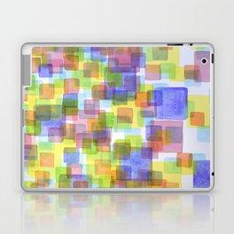 Floating Lightfull Squares  Laptop & iPad Skin