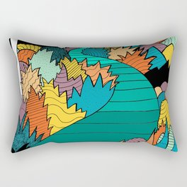 Into the forest Rectangular Pillow