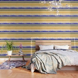 Brush Strokes Art, Watercolor, Color Theory Home Accessories Wallpaper