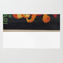 Vintage poster - Bitter Campari Rug