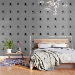 Orb Weaver Silhouette Wallpaper
