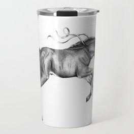 Contra viento /Running horse Travel Mug