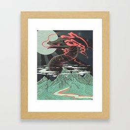 God of the Mountain Framed Art Print