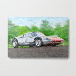 904 GTS Metal Print