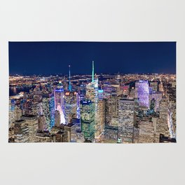New York City Skyline Rug