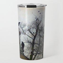 A Gathring Of Crows Travel Mug