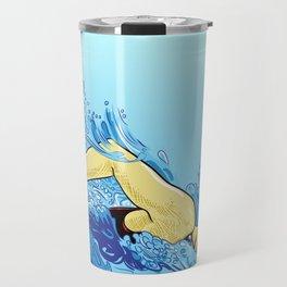 Swimming Girl Travel Mug
