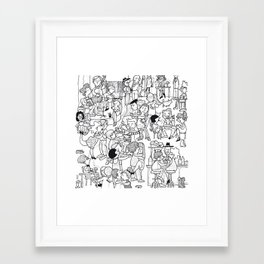 Milonga Framed Art Print