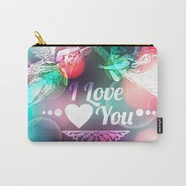 Love Background with Angels  Carry-All Pouch