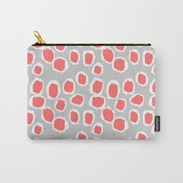 Zola - Abstract painted dots, painterly, bold pattern, surface pattern, print pattern design Carry-All Pouch