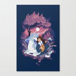 Last Unicorn + Dan Avidan Canvas Print