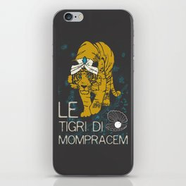 Books Collection: Sandokan, The Tigers of Mompracem iPhone Skin