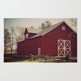 Old Red Barn Rug