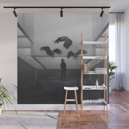 Vultures Wall Mural