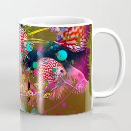 Palm tree in full color Coffee Mug