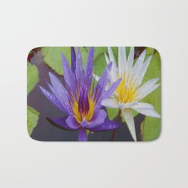 Loving Lotuses Bath Mat