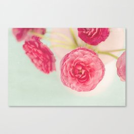 Flowers really do intoxicate me. Vita Sackville-West Canvas Print