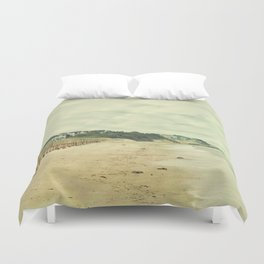 Beach on the Cape Duvet Cover
