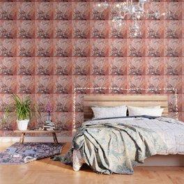 Van Gogh Almond Blossoms : Deep Peach Wallpaper