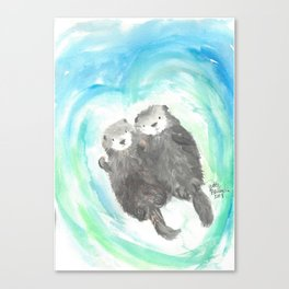 """Made for each """"otter"""" Canvas Print"""