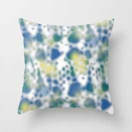 Impression of glimpses of light Throw Pillow