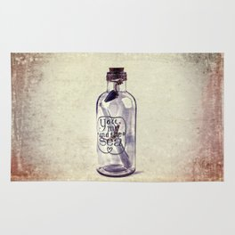 Message In A Bottle Rug