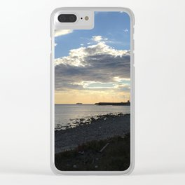 Summer Clear iPhone Case