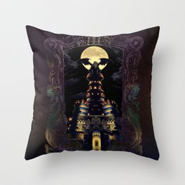 Magus Castle Throw Pillow
